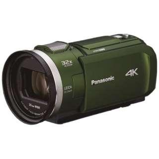HC-VX2M-G ビデオカメラ フォレストカーキ [4K対応]