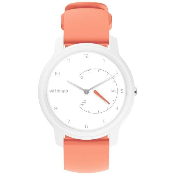 HWA06MODEL5ALLAS スマートウォッチ Withings Move White & Coral
