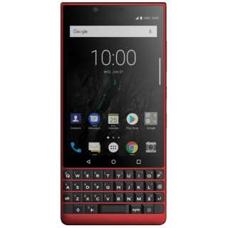 BlackBerry KEY2 128GB Red limited edtion ケースセット PRD-63831-002-SET