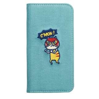 iPhone8/7/6s/6(4.7) CAT FLIP kusukusuレスラーネコ