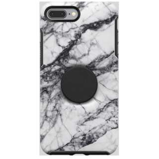 OTTERBOX OTTER + POP SYMMETRY iPhone 7 Plus/ iPhone 8 Plus WHITE MARBLE 77-61711