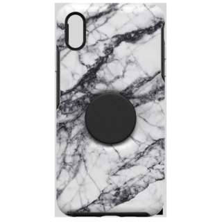 OTTERBOX OTTER + POP SYMMETRY iPhone XS MAX WHITE MARBLE 77-61747