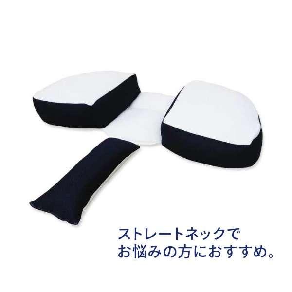 さかい式ストレートネック快眠まくら(28×70cm) ストレッチクッション付き
