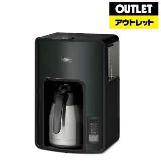 【アウトレット品】 真空断熱ポット コーヒーメーカー (1.0L) ECH-1001-BK ブラック 【外装不良品】