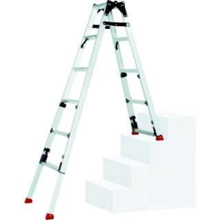 ピカ 四脚アジャスト式脚立スーパーかるノビSCN型階段用 SCN-45