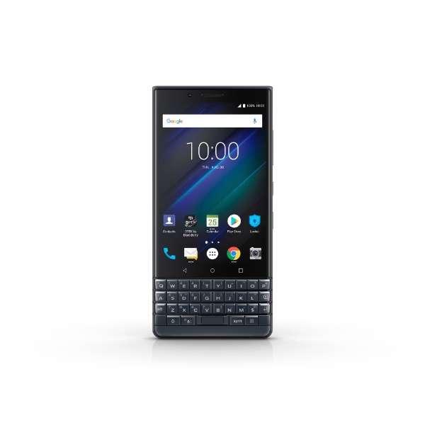 BlackBerry KEY2 LE Slate ダークネイビー「PRD-65004-083」4.5型 メモリ/ストレージ: 4GB/64GB nanoSIM x2 FMラジオ対応 ドコモ/ソフトバンク対応 SIMフリースマートフォン
