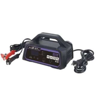 MP-210 全自動パルスバッテリー充電器 (バイク-普通自動車・小型農機) 12V専用 定格6.5A バッテリー診断機能付