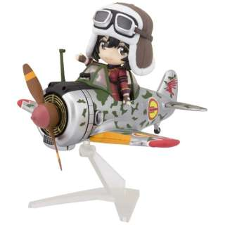Figuarts mini 荒野のコトブキ飛行隊 キリエ&隼一型(キリエ仕様) 【発売日以降のお届け】