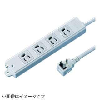工事物件タップ(抜け止めタイプ) TAP-KE4L-3 [3.0m /4個口 /スイッチ無]