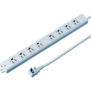 工事物件タップ(抜け止めタイプ) TAP-KE8L-1 [1.0m /8個口 /スイッチ無]