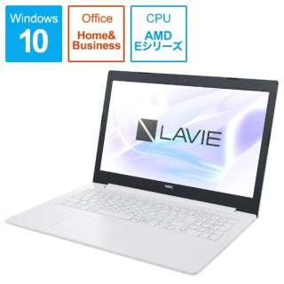 PC-NS10EM2W カームホワイト [15.6型 /AMD Eシリーズ /HDD:500GB /メモリ:4GB]
