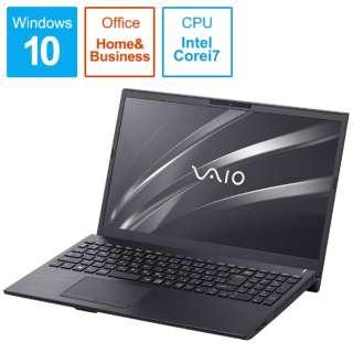 VAIO S15 ノートパソコン ブラック VJS15390111B [15.6型 /intel Core i7 /HDD:1TB /SSD:128GB /メモリ:8GB /2019年4月モデル]