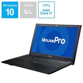 BC-MB15P85M16S4-184 ノートパソコン Mouse Pro ブラック [15.6型 /intel Core i7 /SSD:480GB /メモリ:16GB /2019年4月モデル]
