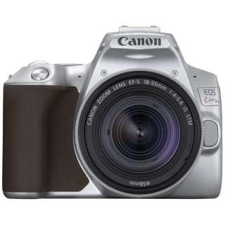 EOS Kiss X10 デジタル一眼レフカメラ EF-S18-55 IS STM レンズキット シルバー [ズームレンズ]