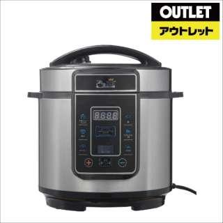 【アウトレット品】 電気圧力鍋 プレッシャーキングプロ(おまかせレシピ付) PKPWS01 【外装不良品】