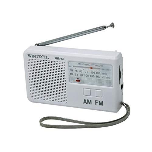 廣華物産 WINTECH 廣華物産 KMR-60 AM FMコンパクトラジオ
