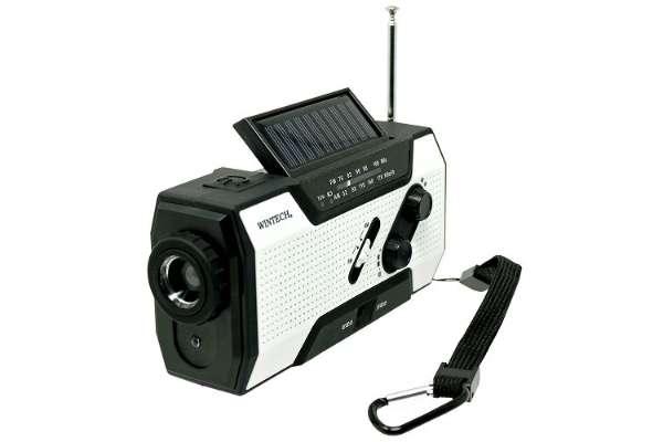 防災ラジオのおすすめ10選 廣華物産KDR-201WP