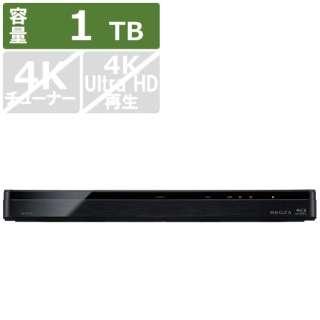 ブルーレイレコーダー REGZA(レグザ) DBR-W1009 [1TB /2番組同時録画]