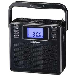 ステレオCDラジオ RCR-500Z-K ブラック [ワイドFM対応]