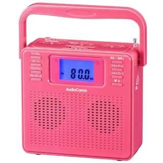 ステレオCDラジオ RCR-500Z-P ピンク [ワイドFM対応]