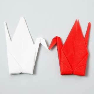 メガネ拭き peti peto(プッチペット)紅白ツルセット