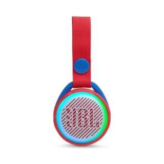 BLUETOOTHスピーカー JBLJRPOPRED レッド [Bluetooth対応 /防滴]