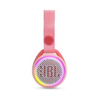 BLUETOOTHスピーカー JBLJRPOPPIK ピンク [Bluetooth対応 /防水]