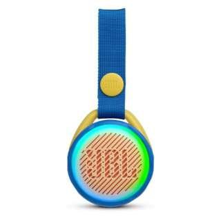 BLUETOOTHスピーカー JBLJRPOPBLU ブルー [Bluetooth対応 /防水]