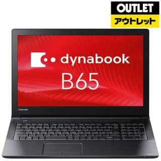 【アウトレット品】 15.6型ノートPC [Win10 Pro・Core i3・HDD 500GB・メモリ 8GB] PB65JFB41R7AD21 【数量限定品】