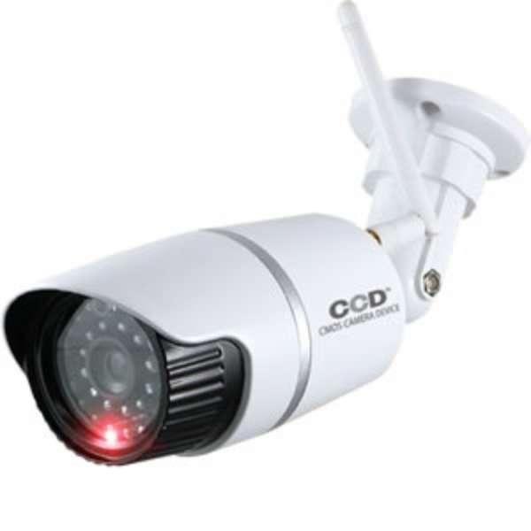 アンテナ付バレット型防犯ダミーカメラ OS-176W