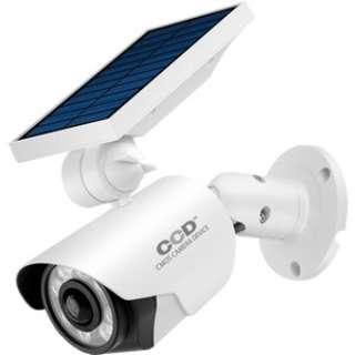 ソーラー式カメラ型センサーライト OL-334W