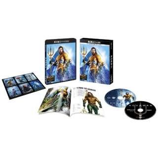 【初回仕様】アクアマン <4K ULTRA HD&ブルーレイセット>(2枚組/ブックレット&キャラクターステッカー付) 【Ultra HD ブルーレイソフト】