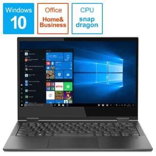 Yoga C630【LTE対応】 ノートパソコン アイアングレー 81JL0014JP [13.3型 /Snapdragon /UFS:128GB /メモリ:4GB /2019年4月モデル]