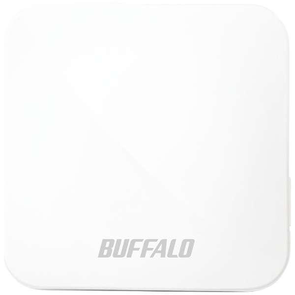 無線LAN親機 wifiルーター 433+150Mbps AirStation ホワイト WMR-433W2-WH [ac/n/a/g/b]