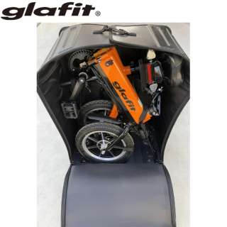 電動バイク glafitバイクアクセサリー glafitオリジナル 折り畳み式輪行ハードケース BSB001