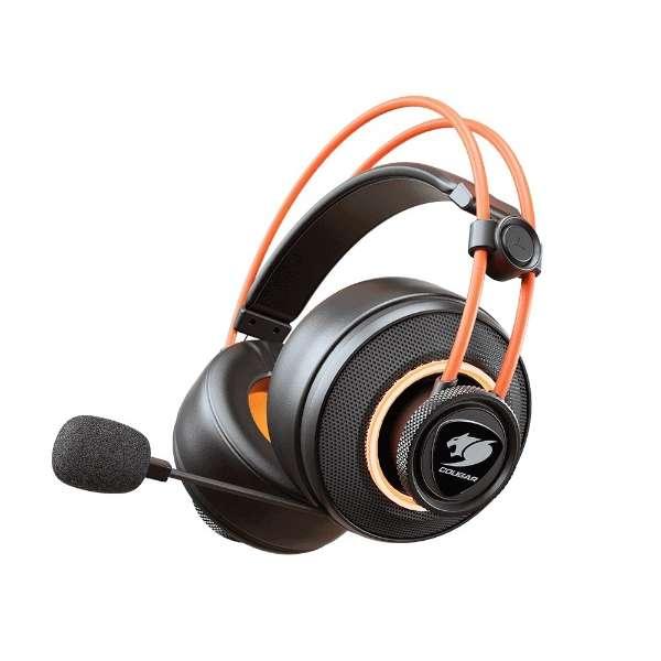 CGR-U50MB-710 有線ゲーミングヘッドセット IMMERSA PRO [φ3.5mmミニプラグ+USB /両耳 /ヘッドバンドタイプ]