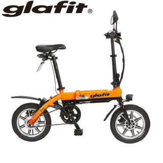 電動バイク glafitバイク(ミカンオレンジ) GFR-01【延長保証サービス 3年付】