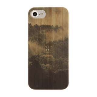[iPhone 8/7/6s/6専用]kibaco BAMBOO RUBBER CASE 663-102616 WAY UP