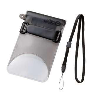 b530c30ca7 スマートフォン用防水・防塵ケース セルフィー特化 Lサイズ ブラック PCWPSS02BK. エレコム ELECOM