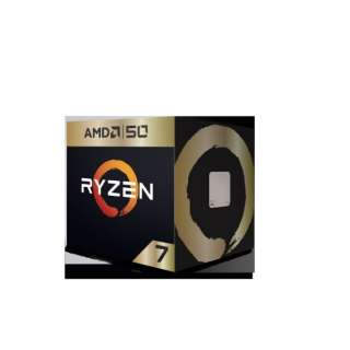 AMD Ryzen 7 2700X 50th Anniversary Edition with Wraith Prism cooler YD270XBGAFA50