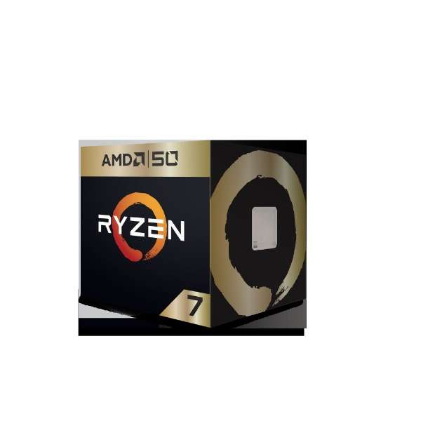 AMD Ryzen 7 2700X 50th Anniversary Edition with Wraith Prism cooler YD270XBGAFA50