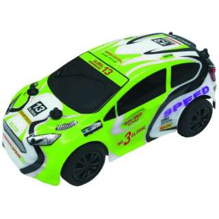 27MHz R/C エクストリームラリーカー No.4 ラリーカー 緑