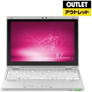 【アウトレット品】 10.1型ノートPC[Win10 Pro・Core m3・SSD 128GB・メモリ 8GB・Office] Let's note(レッツノート) RZシリーズ CF-RZ8BDFQR シルバー 【外装不良品】