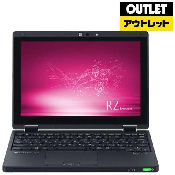 【アウトレット品】 10.1型ノートPC [Office付・Core i5・SSD 256GB・メモリ 8GB・LTE対応・Win10 Pro] Let's note(レッツノート) RZシリーズ  CF-RZ8CFMQR  ブラック 【外装不良品】