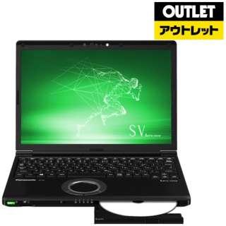 【アウトレット品】 12.1型ノートPC [Win10Pro・Core i7・SSD 512GB・メモリ 8GB・Office・LTE対応] Let's note(レッツノート) SVシリーズ  CF-SV8DFNQR  ブラック 【外装不良品】