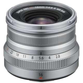 カメラレンズ XF16mmF2.8 R WR FUJINON(フジノン) シルバー [FUJIFILM X /単焦点レンズ]