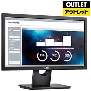 【アウトレット品】 モニタ Dell Eシリーズ ブラック E2016HA [ワイド /WXGA++(1600×900)] 【数量限定品】