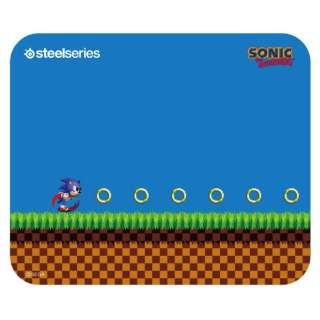 63394 ゲーミングマウスパッド QcK Sonic the Hedgehog Edition
