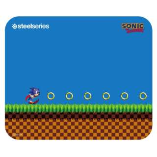 63395 ゲーミングマウスパッド QcK Mini Sonic the Hedgehog Edition