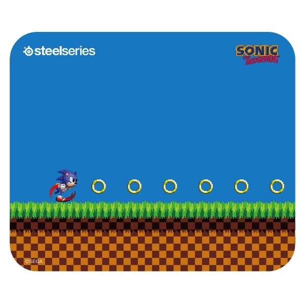 63395 ゲーミングマウスパッド QcK Mini Sonic the Hedgehog Edition